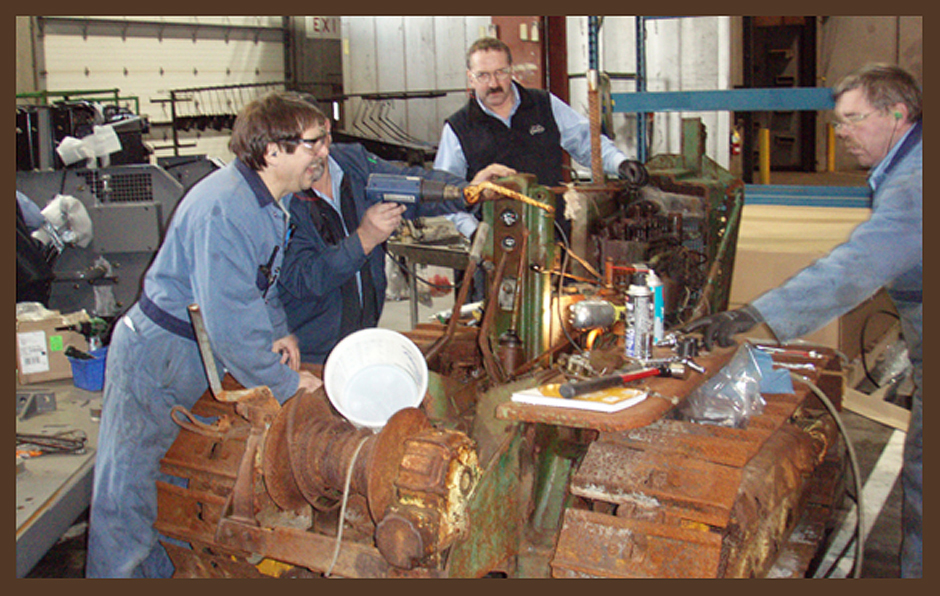Tractor Restoration Projects : Fred burfield s john deere tractor restoration project